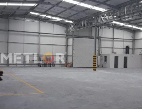 Novo armazém para logística METLOR